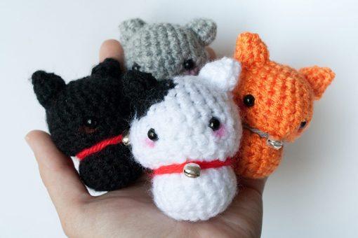 Amigurumi Cat Wool