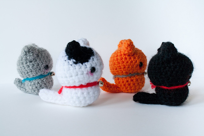 Amigurumi Wool : Amigurumi Cat - Wool - Handmade - AthletiCat