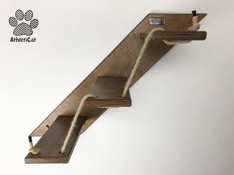 Wooden cat stair