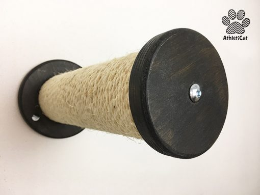 Cat wall mounted scratching post