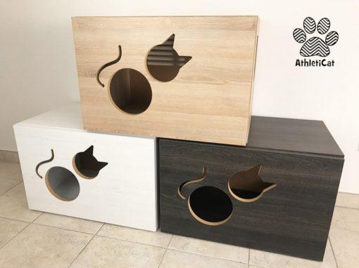 cat litter box cabinet