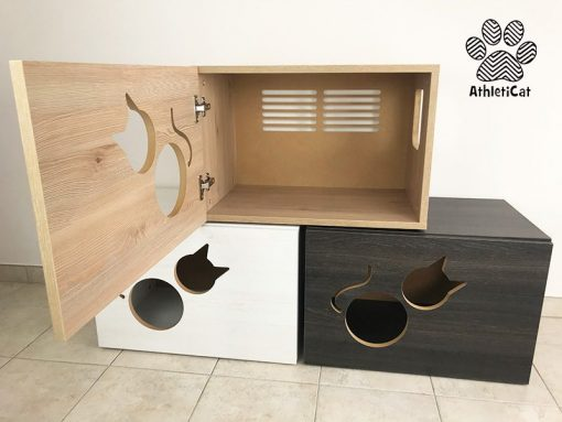 cat litter cabinet