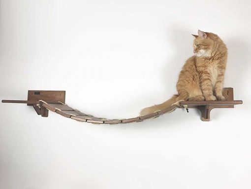 Cat bridge walnut